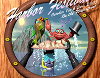 2005 Morro Bay Harbor Festival Poster Design Entry