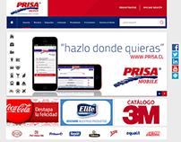 Prissa Depot - Rediseño Web