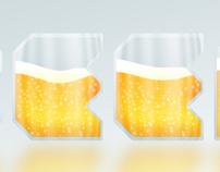 Beer Typography