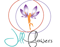 Jill Flowers logo design