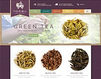 Norbu Tea | e-Commerce Website Design