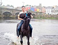 An Irish Horse fair.