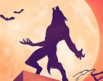 Halloween Howl Poster