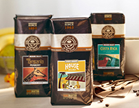 Coffee Bean Foils, Labels & Packaging