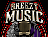 BREEZY MUSIC LOGO