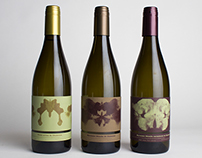 White wine triptych