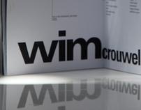a zine of wim crouwel