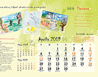 Calendar for foster families. 2009.