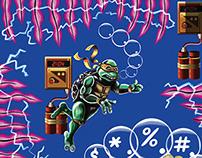 Teenage Mutant Ninja Turtle Poster