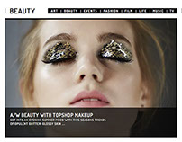 A/W Beauty with Topshop Makeup - Spindle Magazine