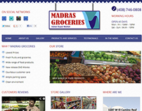 Web Designing for madrasgroceries