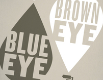 Blue Eye Brown Eye
