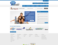 Web Designing and Development for jobsponder