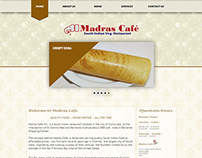 Web Designing for madrascafe