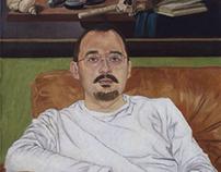 Portrait of maurizio, memento mori...