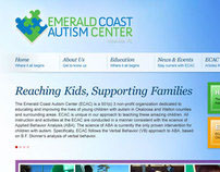 Emerald Coast Autism Center Website