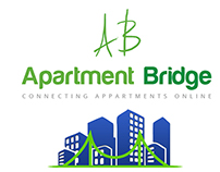 logo designing for apartment bridge