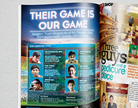 PROPOSAL: Okto's Commonwealth Games 2014 Print Ads