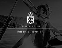 LOGO #1 // Concept 60th Aniversary MARBELLA CLUB HOTEL