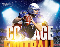 Collage Football Flyer