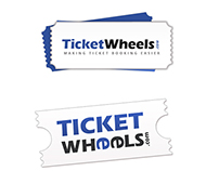 logo designing for ticket wheels