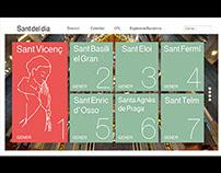 WEB LAYOUT - Calendario Santoral