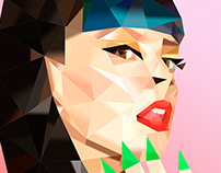 Polygonal Portrait