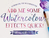 Watercolour - Photoshop Styles Download