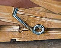 Clothespins battle