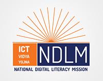 NDLM Logo, Banner & Branding - Government Project