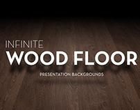 Infinite Wood Floor Presentation Backgrounds