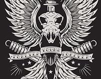 Eagle Poster | Vector A0 - Instagram @mltarts
