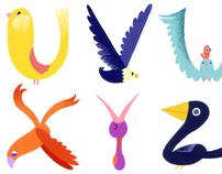 Alphabirds