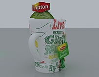 lipton green tea stand