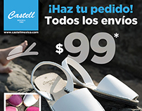 Anuncio para FB / Ad for FB promo / Castell México