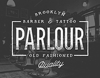 Parlour:  A Movember Inspired Typeface