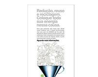 Cartaz campanha de incentivo - Lanxess do Brasil