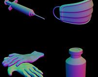 Medicine 3D Props