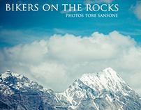 Bikers on the rocks