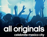 Creatividad | Adidas Originals Celebrate Mx City