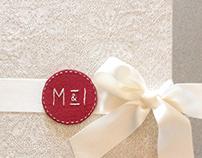 Diseño y Creación de Libro de Firmas para Boda M&I