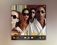 Music Player Widgets