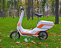 """Electric scooter """"M-bike"""""""