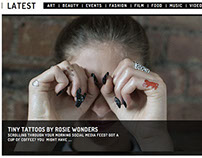 Tiny Tattoos By Rosie Wonders - Spindle Magazine