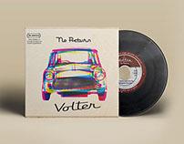 Volter - No Return - Logo & Album Cover Art