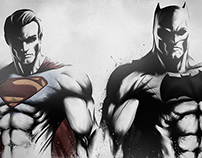 BATMAN V SUPERMAN - DAWN OF JUSTICE, CHARACTER POSTERS