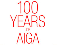 100 YEARS OF AIGA