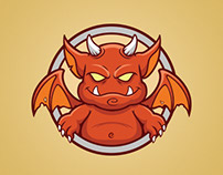 Little Red Devil Badge