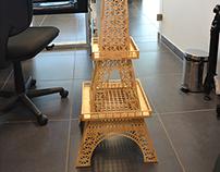 Torre Eiffel CNC