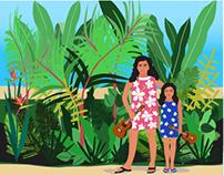 Two Hawaiian Sisters